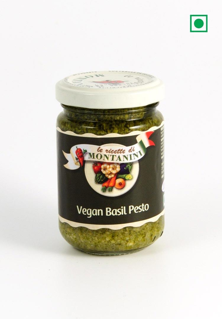Montanini, Pestos - Vegan Basil Pesto - Saksham Impex ...