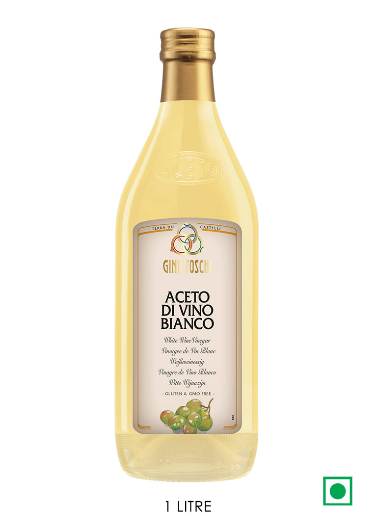 Toschi White Wine Vinegar 1 Litre