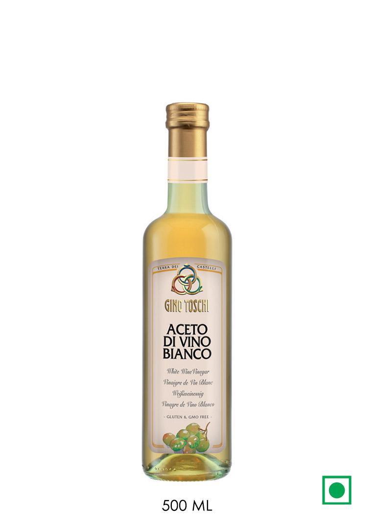 Toschi White Wine Vinegar 500ml